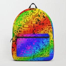 Video Gaymer Pattern Backpack