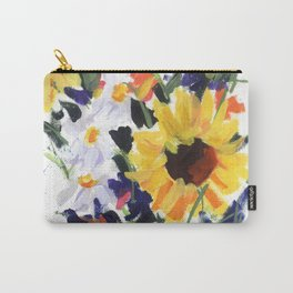 Sunflower Bouquet Carry-All Pouch