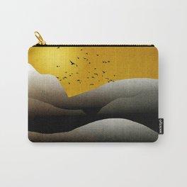 Sunrise Mountain Landscape Carry-All Pouch