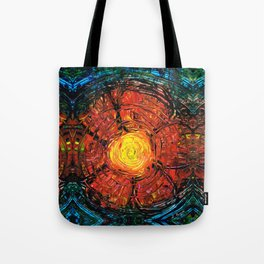 Red Flower Art - Incurable Romantic - By Sharon Cummings Tote Bag