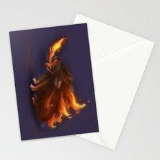 Fire hedgehog Stationery Cards