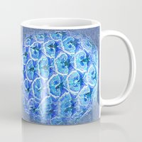 pineapple Mugs featuring Pineapple  by Saundra Myles