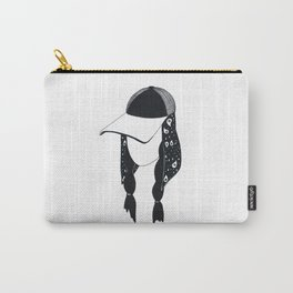 BANDANA GIRL Carry-All Pouch