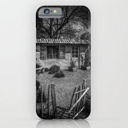 Le Jardin de Vincent Black and White iPhone Case