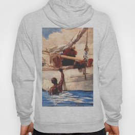 The Coral Divers 1885 By WinslowHomer | Reproduction Hoody