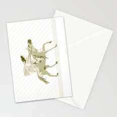Bullet Flying Stationery Cards