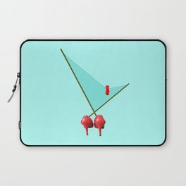 A Bird in May for May - shoes stories Laptop Sleeve
