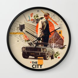 The City 1968 Wall Clock
