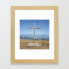 Mexico Cross, 2007 Framed Art Print