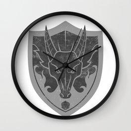 D&D Dragon Crest Wall Clock