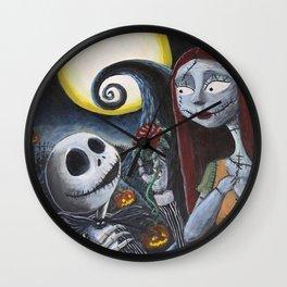 Spooky Romance Wall Clock