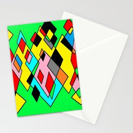 Green mult Stationery Cards