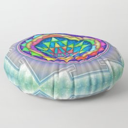 Sri Yantra VII.XI Floor Pillow