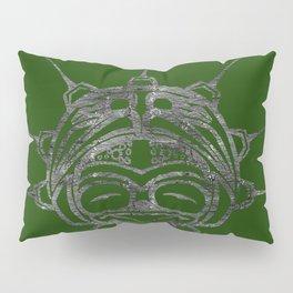 Smoke Frog Grass Pillow Sham
