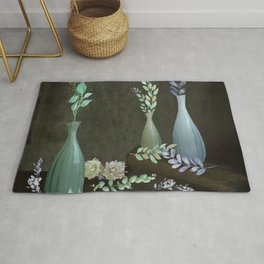 The Gracefulness of Leaves Rug