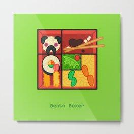 Bento Boxer Metal Print
