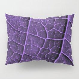 LEAF STRUCTURE ULTRAVIOLET Pillow Sham