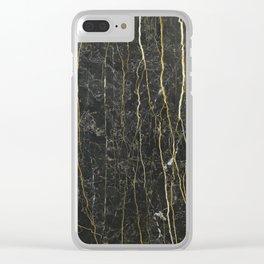 Black Onyx Clear iPhone Case