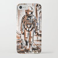 2001 iPhone & iPod Cases featuring 2001 by Joe Badon
