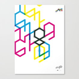 Number eight Canvas Print