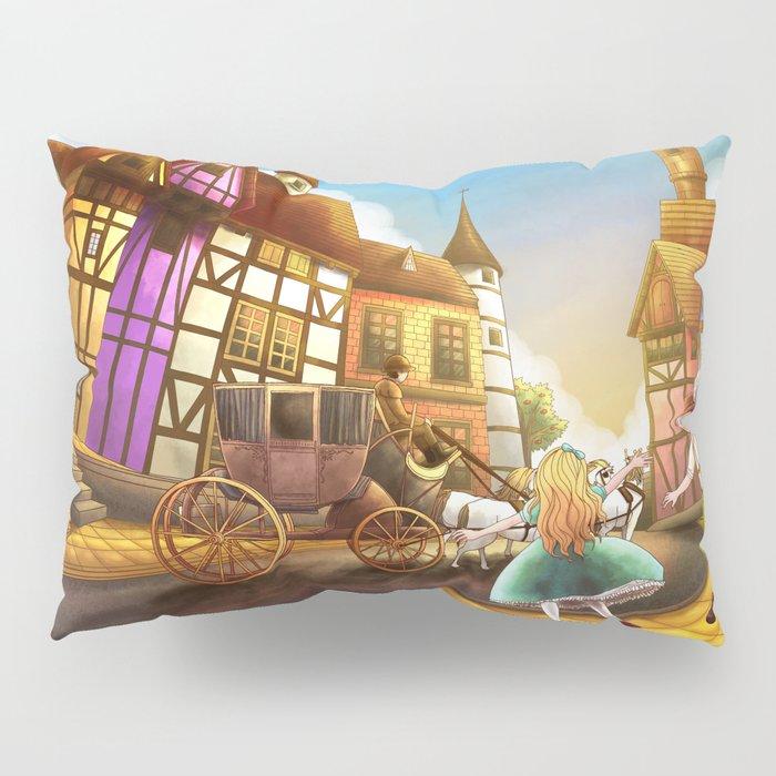 The Bavarian Village Pillow Sham