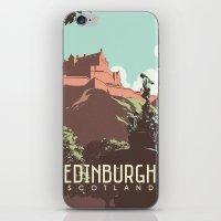 edinburgh iPhone & iPod Skins featuring Edinburgh by bonggg