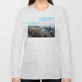 Water licks the Wharf's Remains Long Sleeve T-shirt