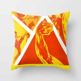 The Kid with the Golden Arm Throw Pillow