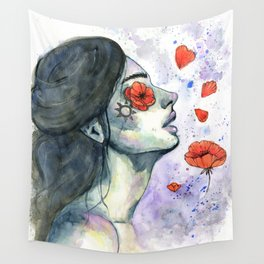 Blinded Wall Tapestry