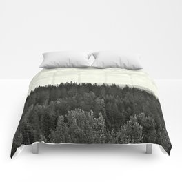 Forest BW Comforters