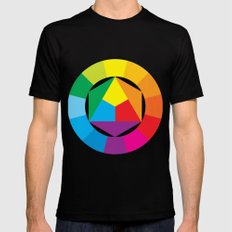 color wheel Black 2X-LARGE Mens Fitted Tee