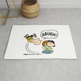 Charlie Brown Foot Ball Rug
