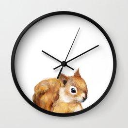 Little Squirrel Wall Clock