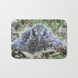 Laysan Albatross Chick, No. 1 Bath Mat