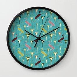 Ibis&Lotus Wall Clock
