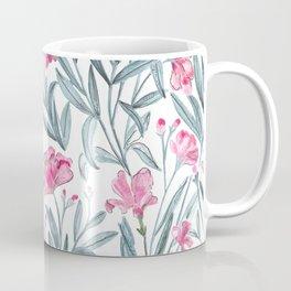 Nerium Oleander Pattern Coffee Mug