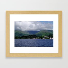 Lake Windermere Framed Art Print