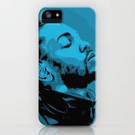 Kendrick Lamar by STENZSKULL iPhone Case