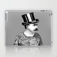 Tattooed Victorian Man Laptop & iPad Skin