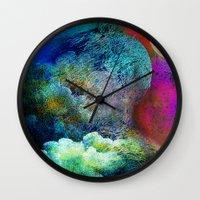 sandman Wall Clocks featuring Mister Sandman, bring me a dream by Joe Ganech