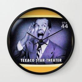 Texaco Star Theater Wall Clock