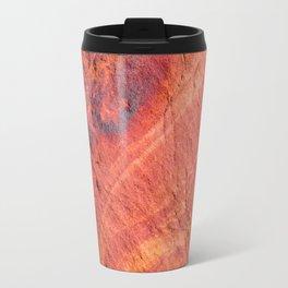 Natural Sandstone Art - Valley of Fire Travel Mug