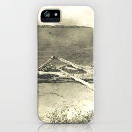 Beach wood Landscape iPhone Case