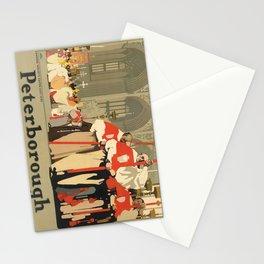 manifesto peterborough. circa 1935 Stationery Cards