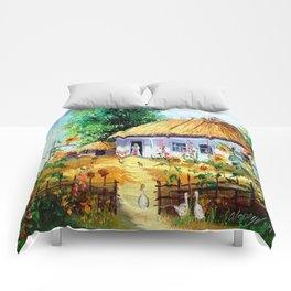 Ukrainian village Comforters
