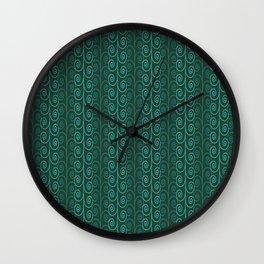 green curls Wall Clock