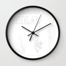 all young fishermen Wall Clock