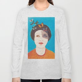 MARIPOSAS EN LA CABEZA Long Sleeve T-shirt