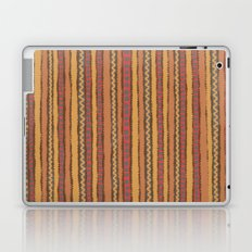 Abstract Hand Drawn Colorful Vertical Stripes Laptop & iPad Skin