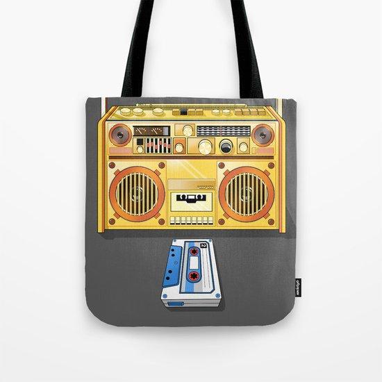 Droid Ghettoblaster Boombox Tote Bag